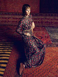 freja vogue aus002 800x1064 Freja Beha Erichsen Models Folk Styles for Inez & Vinoodh in Vogue Australia