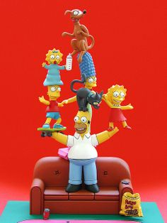 mcfarlane toys' simpsons couch gag boxed set (2006) | Flickr - Photo Sharing!