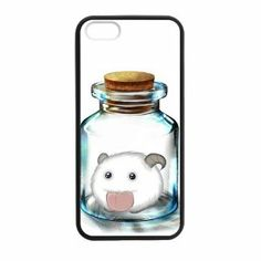 MyTop Arts League of Legends bottle fashion style Apple iPhone 5/5s (TPU) Laser Technology Rubber Protector Case Cover