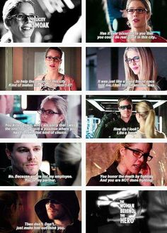 "Arrow - Felicity Smoak #Season2 #Olicity  ""the woman behind the hero"" <3"