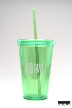 Frist Center cup with straw (available in various colors): $7.95