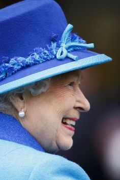 Queen Elizabeth II attends the BQIPCO British Champions Day 2014 at Ascot Racecourse on October 18, 2014
