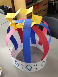 Crazy Crowns | TeachKidsArt- Wk 1 Project Making Charlemange Crown