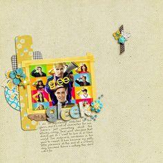 scrapbook pages I <3