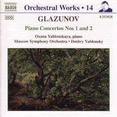 Alexander Glazunov: Piano Concertos