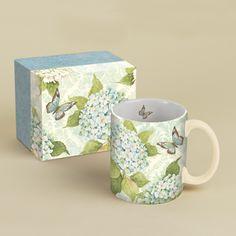 Blue Hydrangea 14 Oz. Mug