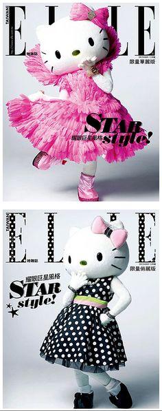 Hello Kitty fashion icon:)