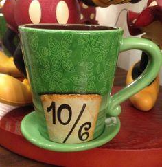 NEW Wonderland Tea Mad As A Hatter Alice in Wonderland Coffee Cup Mug