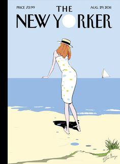 "The New Yorker - Monday, August 29, 2011 - Issue # 4416 - Vol. 87 - N° 25 - Cover ""On The Horizon"" by Istvan Banyai"