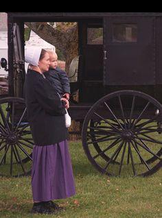Worry ends when faith begin. Amish proverb. Amish county, Arthur, Illinois