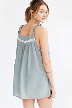 Thistlepearl Tie-Strap Cami - Urban Outfitters