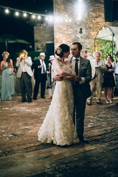 A Temperley Dress for a Rustic Style, Midsummer Wedding in Tuscany | Love My Dress® UK Wedding Blog | Katie wearing the Temperley Sienna Dress