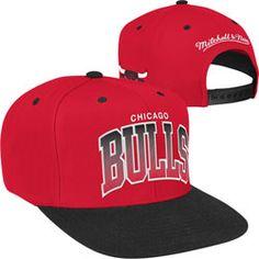 db5c14823 Chicago Bulls Mitchell   Ness Hardwood Classics Team Arch 2-Tone ...