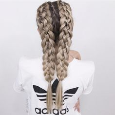 52 Trendy Chic Braided Hairstyle Ideas You Should Try - braid hairstyle, braided half up half down hairstyles #hairstyle #braids #cutehairstyles