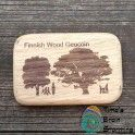 Finnish Wood Geocoin LE (Jalava) Wood, Woodwind Instrument, Timber Wood, Trees