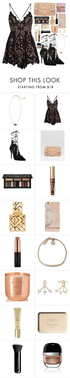 """Untitled #339"" by emmeleialouca on Polyvore featuring Kendra Scott, Kendall + Kylie, Dune, Kat Von D, Too Faced Cosmetics, Tory Burch, Anastasia Beverly Hills, Michael Kors, Tom Dixon and EF Collection"