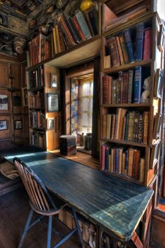 40 Stunning Home Libraries with Rustic Design urz Bookshelves Ideas Design Home Libraries Rustic Stunning urz Library Room, Dream Library, Closet Library, Library Bar, Library Design, Library Ideas, Reading Room Decor, Home Libraries, Book Nooks