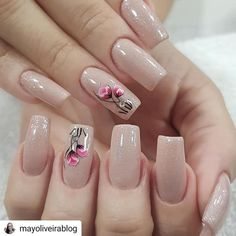 25 Trending Light Nails Color for Fall Winter Mint Nails, Beige Nails, Neutral Nails, Pink Nail Colors, Pink Nail Art, Fall Nail Colors, Color Nails, Violet Nails, Rose Gold Nails