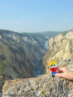 LEGO - Life of George went to Yellowstone National Park.