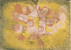 Rotating House, 1921 - Paul Klee (Swizterland, 1879-1940)