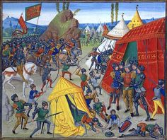 Battle of La Roche-Derrien - Froissart's Chronicles - Wikipedia, the free encyclopedia