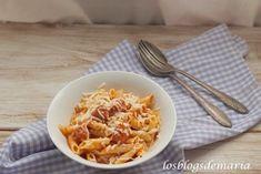 Macarrones con salsa de tomate y salchichas frescas | La cocina perfecta