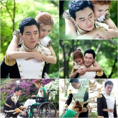 Lee Yoon Ji with Jo Jung Suk (from the Korean Drama Kings 2 Hearts)  (from the Korean Drama Kings 2 Hearts)