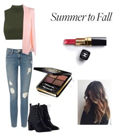 """""""summer to fall"""" by ilikesparkle ❤ liked on Polyvore featuring Frame, Zimmermann, Chanel and Gucci"""