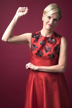Cecile Richards Get Funky, Party Guests, Heroines, Bow, Formal Dresses, Lady, Projects, Beautiful, Women