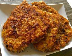 Jogurtowo-musztardowe kotlety schabowe. Ekstra kruche i soczyste. - Blog z apetytem Lunch Recipes, Cauliflower, French Toast, Pork, Food And Drink, Favorite Recipes, Chicken, Dinner, Vegetables