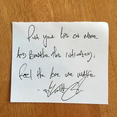 """Put your lips on mine and breathe this intimacy; feel the love we make."" — 	Daily Haiku on Love by Tyler Knott Gregson #tylerknott"