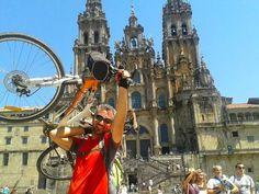 Cammino di Santiago in bicicletta per imparare la condivisione » Viaggiare da Soli