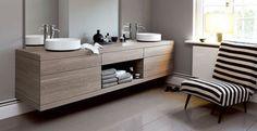 Composition à personnaliser pour ce meuble de salle de bains Alape
