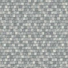 Papel pintado piedras de rio tonos grises y blanco for Papel pintado imitacion azulejo