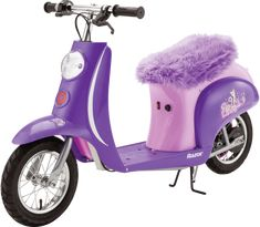 Take to the open road and cruise in style with the Razor Pocket Mod Kitty Electric Scooter. This high-performance scooter features a vintage-inspired body and a chain-driven electric motor that reaches speeds up to 15 mph. Christmas Gifts For Teen Girls, Top Christmas Gifts, Gifts For Teens, Christmas Fun, Little Girl Toys, Baby Girl Toys, Toys For Girls, Baby Dolls, Girl Dolls