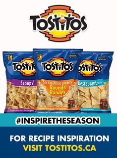 What could be better than one Tostitos® product? Multiple Tostitos® products of course. Browse our sweet selection of nutritious goods and see what others have to say. Snack Recipes, Cooking Recipes, Snacks, Yummy Recipes, Recipies, Tasty, Yummy Food, Pop Tarts, Projects To Try