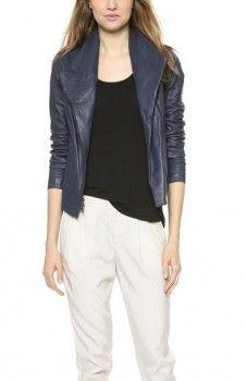 Vince Scuba Leather Jacket worn by Zelda Vasco on A to Z. Shop it: http://www.pradux.com/tv/a-to-z/season/1/episode/5