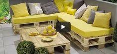 DIY : fabrique un salon de jardin en palettes