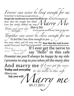 Train - Marry Me <3 LOVE THIS SONG!