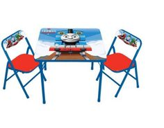 Thomas the Tank Activity Table and 2 Chairs Set  #ThomasFriends