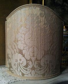 Venetian Lamp Shade Mother of Pearl Silk by OggettiVeneziani
