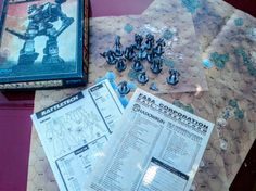 An incomplete and damaged copy of Battletech: A Game of Armored Combat. Missing are the rulebook and dice.   Despite not being a commonly recognized title, complete and undamaged copies of this game (in the same edition) regularly sell in the $200 range. #Battletech #Tabletop #boardgames