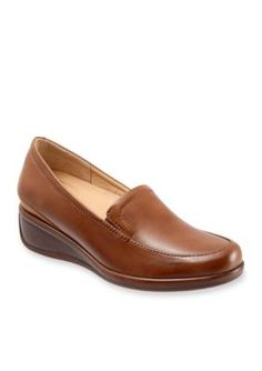 Trotters Cognac Marche Casual Moccasin