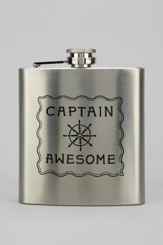 Captain Awesome Flask #urbanoutfitters