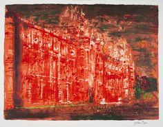 View The Royal Holloway College, from Victorian Dream Palaces By John Piper; Screenprint in colours on Velin Arches paper; Access more artwork lots and estimated & realized auction prices on MutualArt. Coventry Cathedral, Building Painting, John Piper, Arches Paper, London Museums, Inspirational Artwork, Art Uk, Green Man, Pretty Art