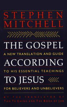 The Gospel According to Jesus | Stephen Mitchell