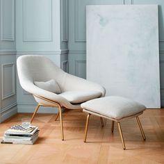 #WestElm -Rowan Upholstered Chair
