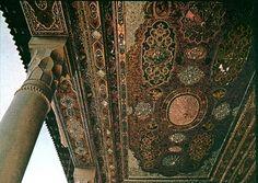 Amazing IRAN - Narenjestan Pavilion ceiling - Shiraz -
