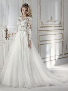 Wonderful Perfect Wedding Dress For The Bride Ideas. Ineffable Perfect Wedding Dress For The Bride Ideas. Perfect Wedding Dress, Best Wedding Dresses, Bridal Dresses, Wedding Gowns, Natural Wedding Dresses, Tulle Wedding, Bridal Lace, Mermaid Wedding, Wedding Dress Sleeves