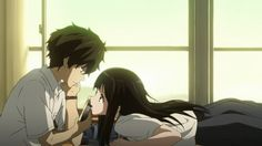 hyouka chitanda and oreki - Google Search | Anime | Pinterest